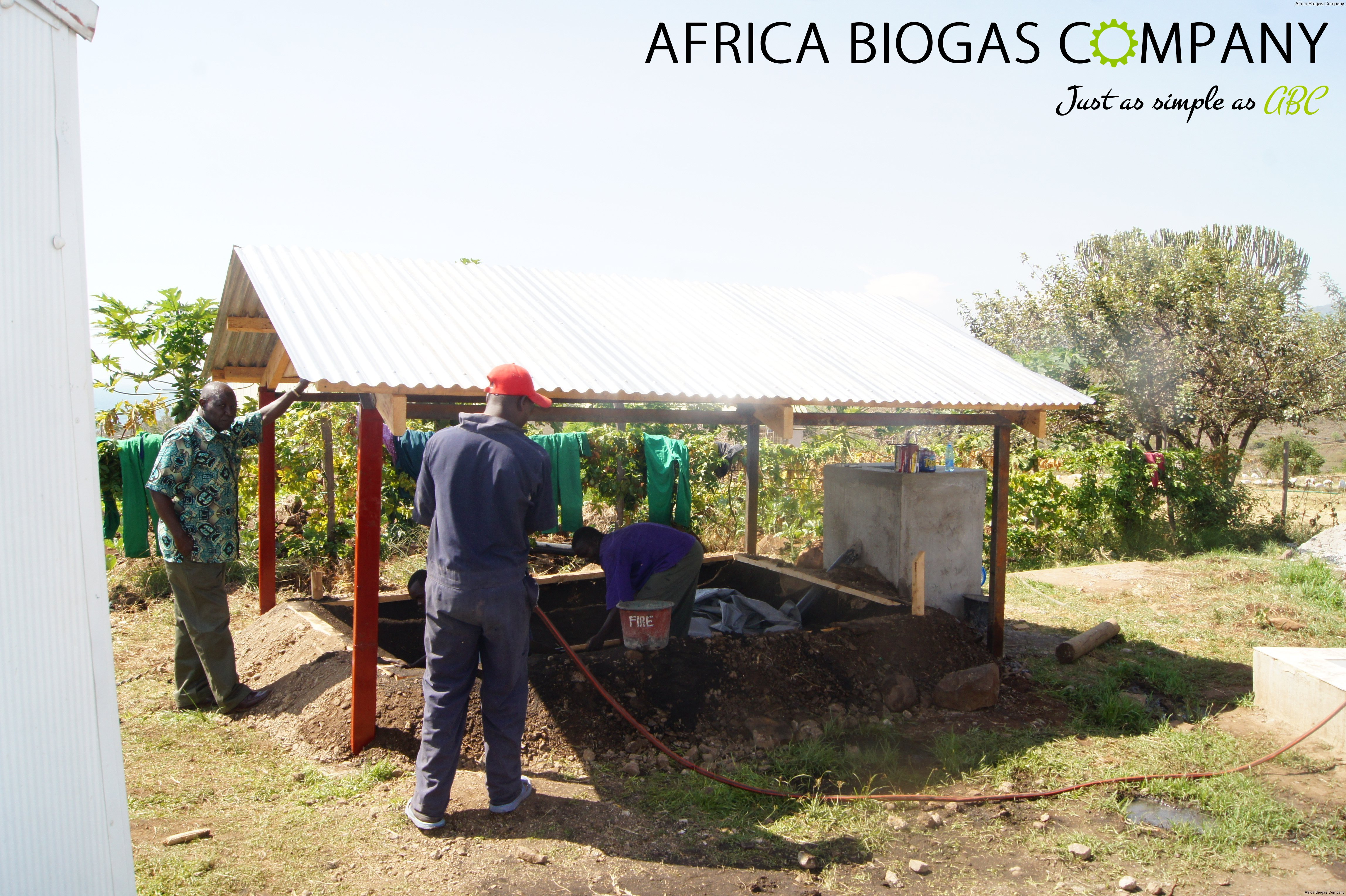 Small Scale Digester building