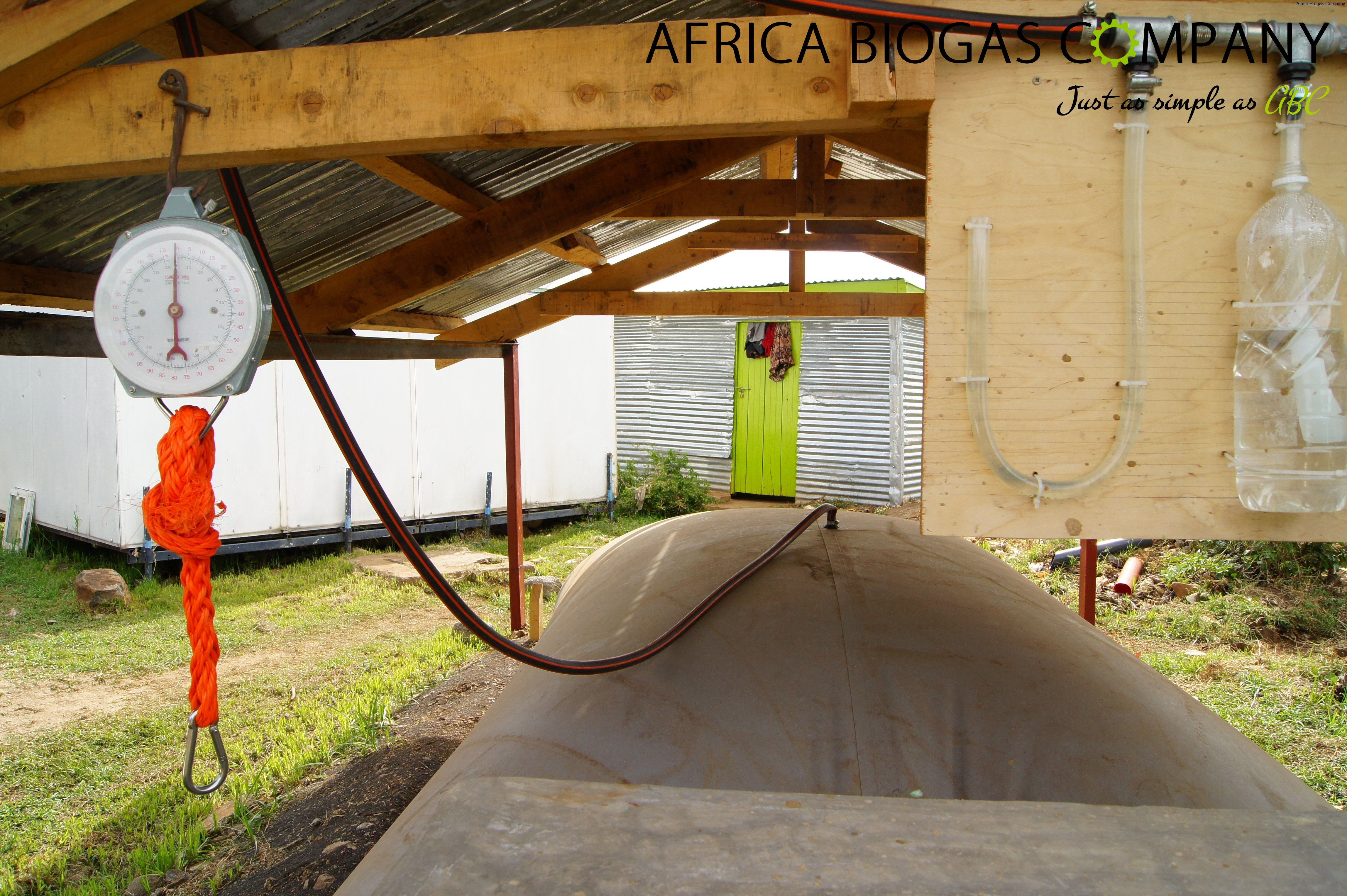 Small Scale Digester front
